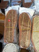 Стельки для обуви солома 36