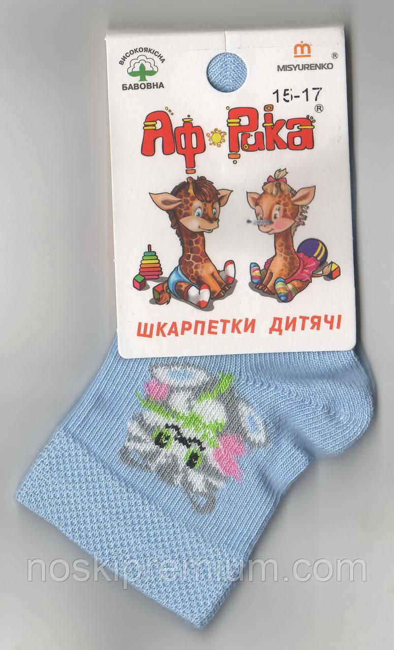 Носки детские демисезонные х/б Мисюренко, 15-17, 10 размер