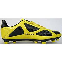 Бутсы Skyview A08282-3 желто-черные, фото 1