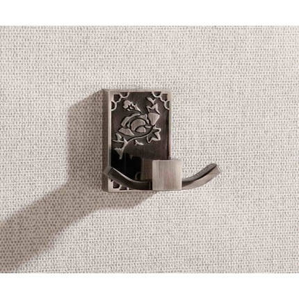 Крючок двойной BADICO PREMIUM 8504 antic black, фото 2
