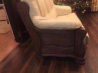 Шкіряний комплект  на дубі  KATRIN кожаная мебель