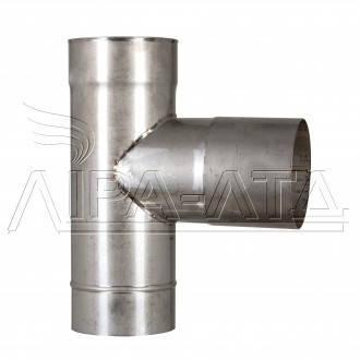 Тройник 90 из нержавейки 0,8 мм AISI 304, фото 2
