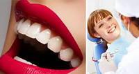 Чистка зубных отложений ультразвуком+полировка (обе челюсти)
