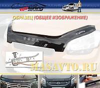 Мухобойка (дефлектор капота) на Тойота Авенсис с 2008> (на крепежах) Vip Tuning.