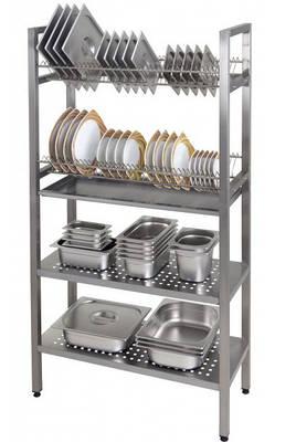 Сушки для посуды промышленные