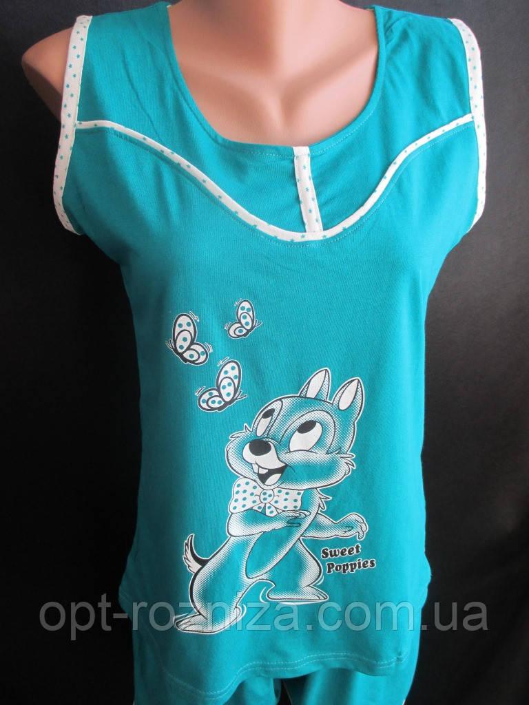 Летние хлопковые пижамы для молодежи.