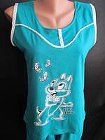 Летние хлопковые пижамы для молодежи., фото 1