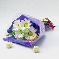 Букет из конфет Ромашки 7