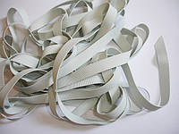 Резинка латексная для купальников белая (8 х 0,6 мм)