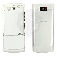 Корпус для Nokia X3-02, белый, оригинал