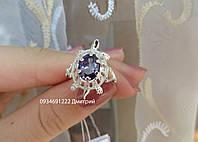 Кільце з срібла Черепашка, фото 1