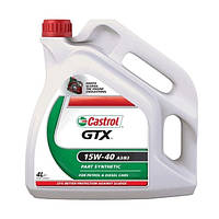 Масло моторное Castrol GTX 15W-40 A3/B3 4л