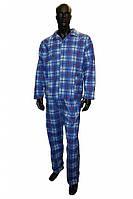 Пижама для больниц, госпиталей, фланелевая, мужская