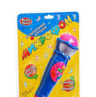 Детский музыкальный микрофон Play Smart 7043, фото 1