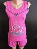 Молодежные качественные пижамы на лето., фото 5