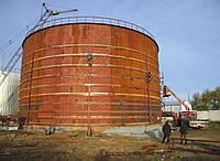 Бак-аккумулятор горячей воды резервуар БАГВ  Услуги монтажа резервуаров и строительство резервуарных парков Ус
