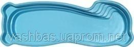 "Стационарный стекловолоконный бассейн ""Монако"" 10,0х3,60х1,25-1,90 м"