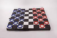 Складной мат - шашки