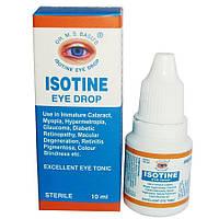 Айсотин Isotine аюрведические глазные капли 10 мл