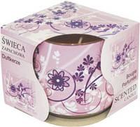 Свеча в стекле ароматическая фантазия. без упаковочной коробки.