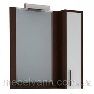 Зеркало с пеналом и подсветкой ион Z-1/4 80 венге
