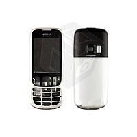 Корпус для Nokia 6303, 6303i, серебристый, оригинальный