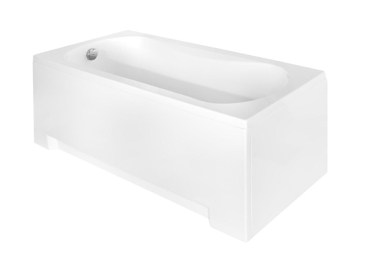 Акриловая ванна ARIA Plus 170x70 Besco PMD Piramida в полной комплектации