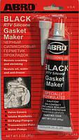Герметик силиконовый ABRO черный, 85 грамма