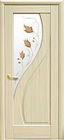 Межкомнатные двери Прима Р1 (золотая ольха, каштан, ясень)