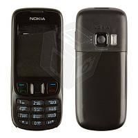 Корпус для Nokia 6303, 6303i с клавиатурой, черный, оригинал