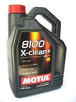 Моторное масло Motul 8100 X-clean+ 5W-30 1л