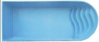 """Стационарный стекловолоконный бассейн """"Версаль"""" 8,0х3,80х1,70 м"""