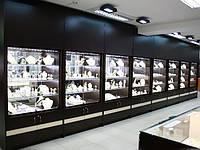 Светодиодное освещение для презентации торгового оборудования
