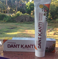 Зубная паста натуральная Гвоздика Дант Канти Патанджали 100г очень классная