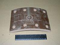 Накладка тормозная МАЗ, КРАЗ заднего сверленная (производитель Трибо) 200-3502105А