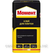 Клей для плитки МОМЕНТ 25 кг  Вінниця