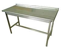 Стол разделочный без полки из нержавеющей стали 100х60 см