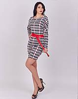 Модное платье из жаккардовой ткани , фото 1