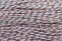 Канат декоративный акрил 5мм (50м) рябой (розовый), фото 1