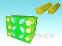 Силиконовая форма Тубус цветок (для брускового мыла)