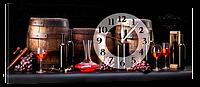 Часы на холсте 30 х 75 см CH-63