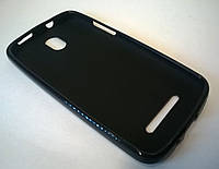 Накладка из термополиуретана для HTC Desire 500 black