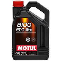 Моторное масло Motul 8100 Eco-lite 5W-30 5л