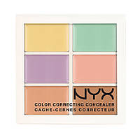 Цветная палитра корректирующих средств NYX Color Correcting Palette
