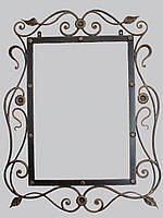 Кованая рама зеркала  - 03-1Ц