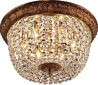 Потолочная люстра  Altalusse INL-1095С-06 Gold Coffee Foil , фото 1