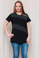 Женская футболка с круглым вырезом и коротким рукавом, фото 1