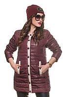 Весенние куртки удлиненные женские
