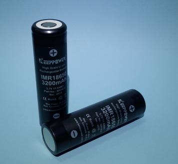 Высокотоковый акумулятор 18650 Keeppower IMR18650-3,2 3,6 V 3200mAh Li-Mn 20A!