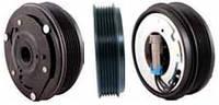 Шкив компрессора кондиционера в сборе HARRISON V5 118mm/6pk 12V